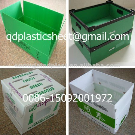 Foldable Corrugated Plastic Box