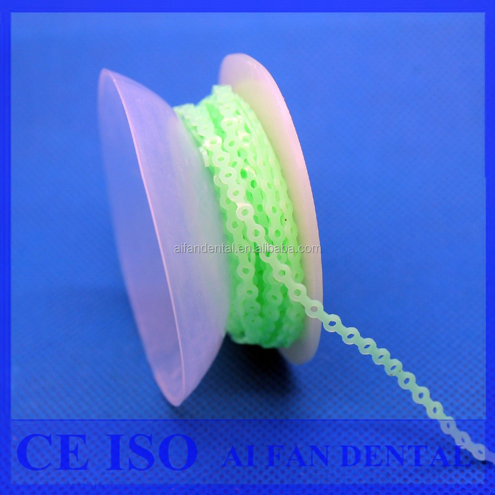 [AiFan Dental ] Dental Orthodontic Super Elastic Power Chain/Colorful Orthodontic Super Elastic Chain