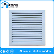 Adjustable Aluminum louvered shutter windows for ventilation and sun control