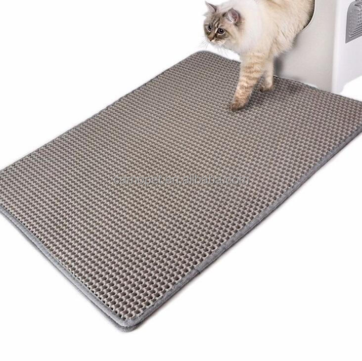 Cat Litter Mat trap Litter Box Scatter Control Trapper Pan Trapper mat EVC pet mat pad