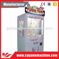 Beatiful Funning Time Arcade Coin Toy Fancy Amusement Gift Machine For Sale