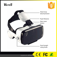 High quality dlp link 3D cheap virtual reality glasses with 3D VR headset