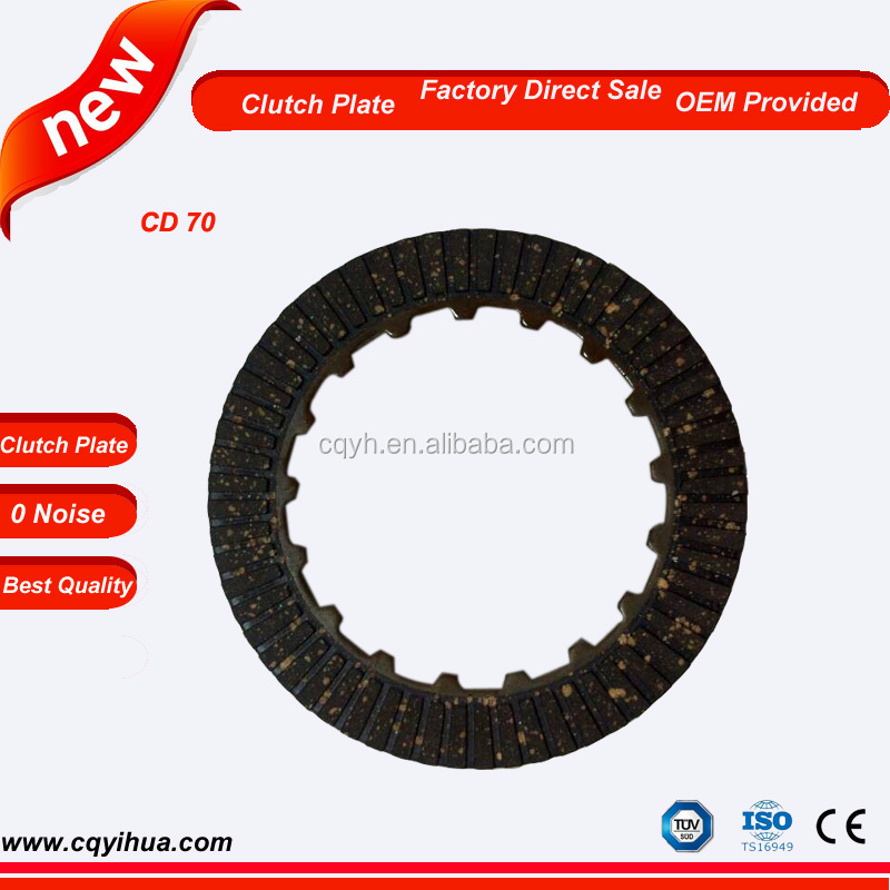 Motorcycle Clutch Plate Manufactuers for CD 70, CD 50, C 70, C 50 Clutch Plate