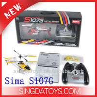 3 Channel mini RC helicopter with gyro syma s107