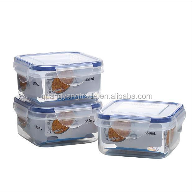 Food grade kitchen fresh preserving box airtight seal food container