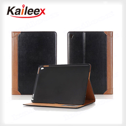 Accepted Custom Book Style Leather Case For iPad Pro 9.7