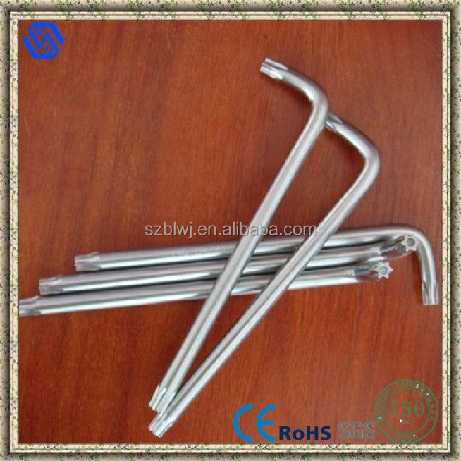 L-shaped Hex Key Wrench Hand Tool,torx spanner wrench