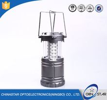CE Certification durable led camping lantern collapsible