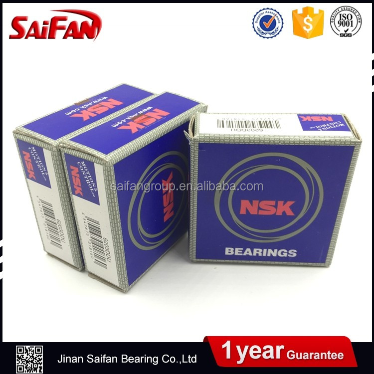 Ball Bearings NSK 6201-2rs Deep Groove Bearing 6201 Bearing 12*32*10