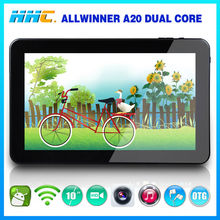 high configuration tablet pc A20 chip 1gb ram 8gb flash hdmi otg touch panel pc 10 inch