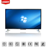 50 inch advertisng display 4K lcd monitor with HDMI,VGA,wifi,win 7 system