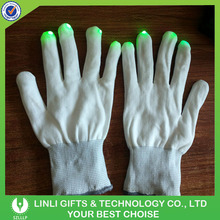 Decorative LED Glitter Gloves For Party