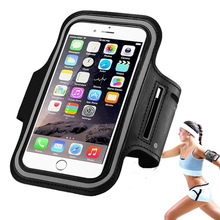 Hot sale outdoor sport running phone arm holder waterproof Neoprene arm band portable armband for iphone & android mobile phone