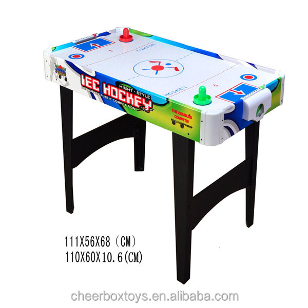 new design kids table top air hockey game with legs
