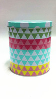 Middle Round Cake & Food Tin Can