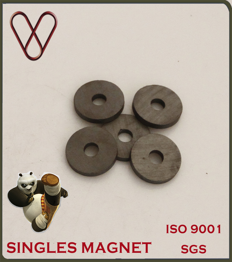 Sintered Ferrite/Ceramic Ring Magnet From China Manufacturer
