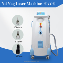 High quality q switched nd yag laser tattoo removal machine / professional nd yag laser scar removal equipment