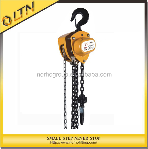 High Quality Cargo Hoist/chain block CE GS TUV Approved