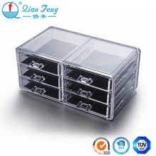 Multi-Tier drawer different size acrylic box acrylic organizer