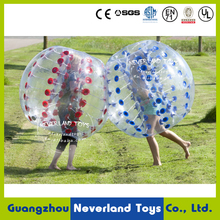 1.5M Funny Games NEVERLAND TOYS Inflatable Bubble Ball Inflatable Bumper Ball Inflatable Bubble Soccer Best Quality Hot Sale