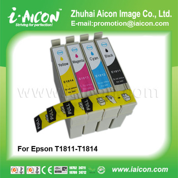 For Epson ink cartridge T1811 T1812 T1813 T1814