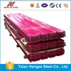 China good PPGI corrugated steel sheet/ppgi metal roofing tiles/color steel fence panel