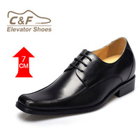 High quality original brand high heel men pointed toe leather mens formal shoes/italian shoes and bag set
