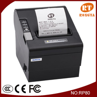 80mm USB POS Thermal Receipt Printer RP80 support android mobile phone.