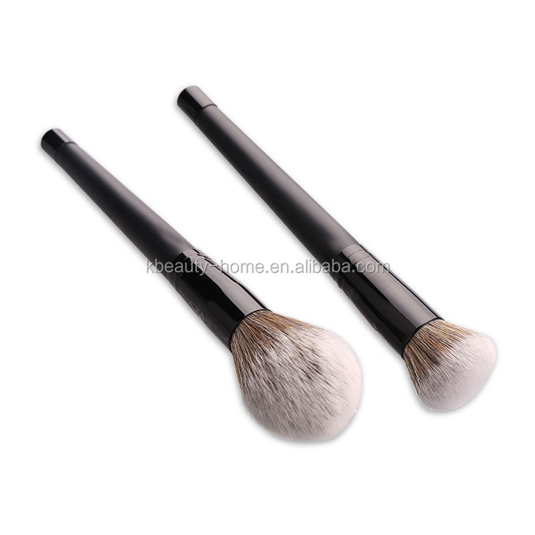 new stand black long handle magnetic stone blusher powder makeup brush
