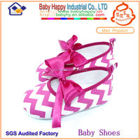 Online wholesale cheap zebra printed baby doll shoes for girls