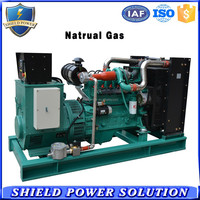 20-500 KW Natural Gas Powered generator, CNG/LPG/Methane Gas as Fuel