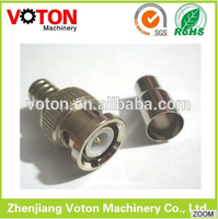 BNC connector male crimp coaxial cable connector radio/ camera