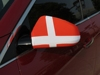 car rear view mirror flag at factory price