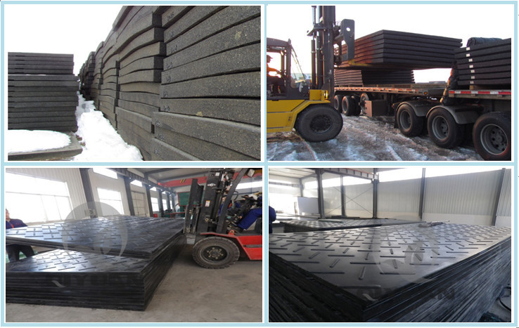 Engineering plastic ground protection mat drilling rig floor mat