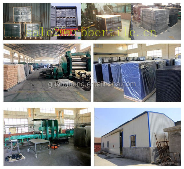 Agriculture animal rubber matting/stable rubber mat/cow rubber sheet