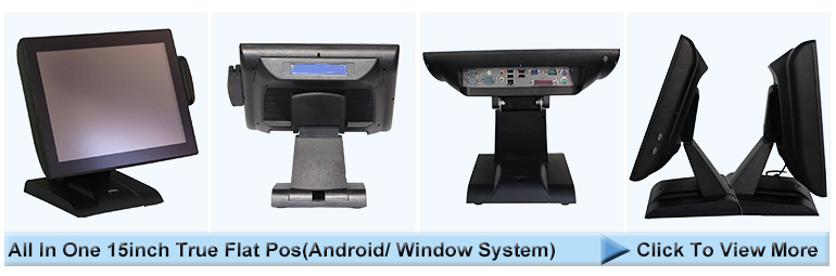 Large Supply Double Pos Specialty Shop Touch Screen Pos Systems