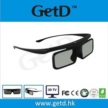 2d to 3d converter active shutter 3d glasses compatible with active 3D TV