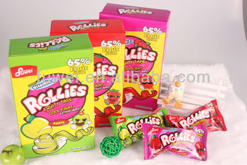Gummy Rollies Fruit candy