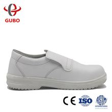 work man white leather shoes for nurse foot protection