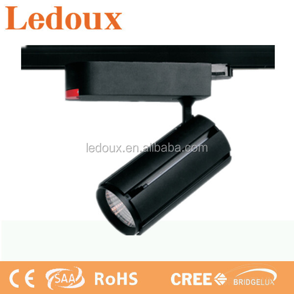 led track light40w with 4-circuit track light adapter