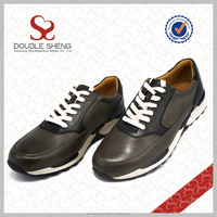 Bulk wholesale 100%nature leather cheap mens athletic shoes