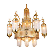 Islamic gold plated mosque chandelier