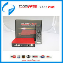 Tocomfree satellite receptor S929 plus for South America with wifi,3G,iptv function tocomfree s929 wifi digital satellite receiv