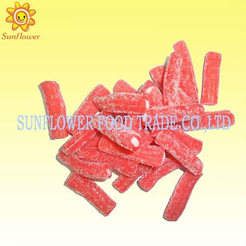 Sour Strawberry Liquorice Candy