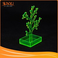 Manufacture Customed Tree Shaped Acrylic Jewelry Earrings Storage Display Stand