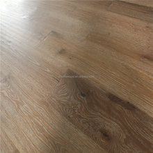 1900*190*15/4mm Cheap Prices Rustic Hand Scraped White Washed Engineered Oak Wood Flooring