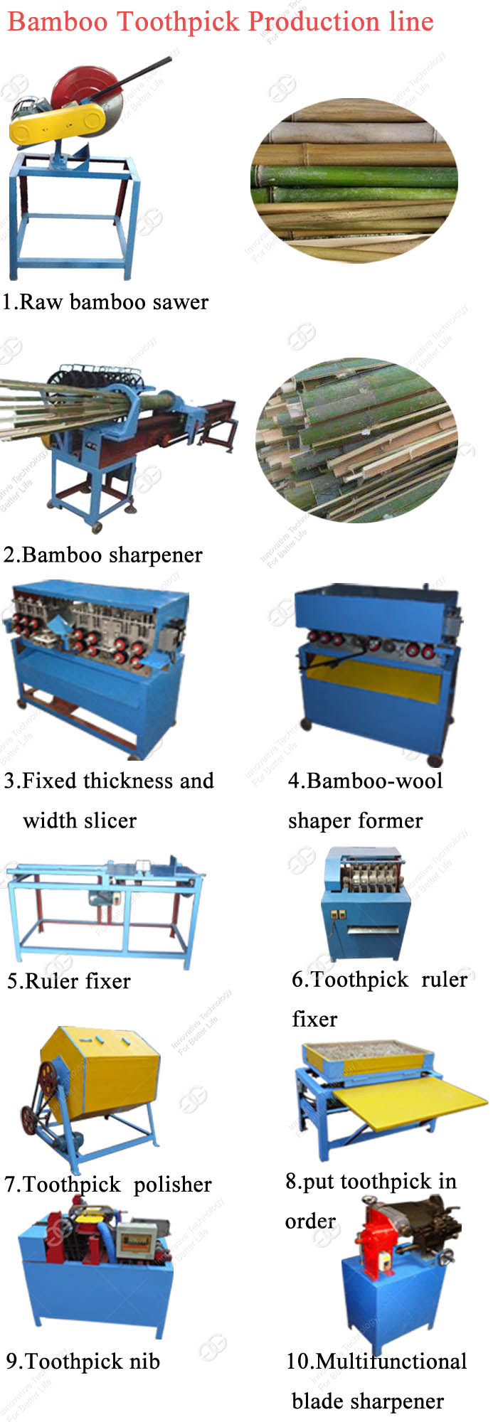 Factory Price Bbq Barbecue Wooden Stick Product Maker Making Machine Bamboo Toothpick Processing Line