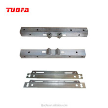 electric power line hardware hot dip galvanized angle steel cross arm 75mm *75mm * 6mm *1800mm
