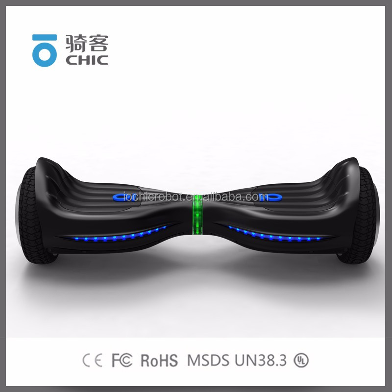 Io Chic Robot Brand 2 Wheel Stand Up Electric Hover Board Hot Sale
