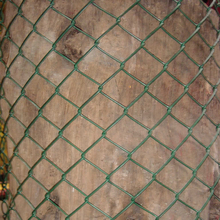 Eco friendly used chain link fence post for basketball fields